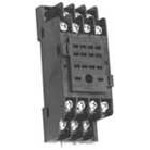 95 Series Plug In (Solder) Terminal Basic Relay Socket - 4PDT