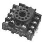 97 Series Octal Relay Socket - 3PDT