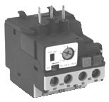 2 Pole Single Phase Thermal Overload Relay - 3.5 - 5.0 Amp Range